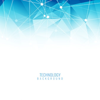 Blue elegant technology background
