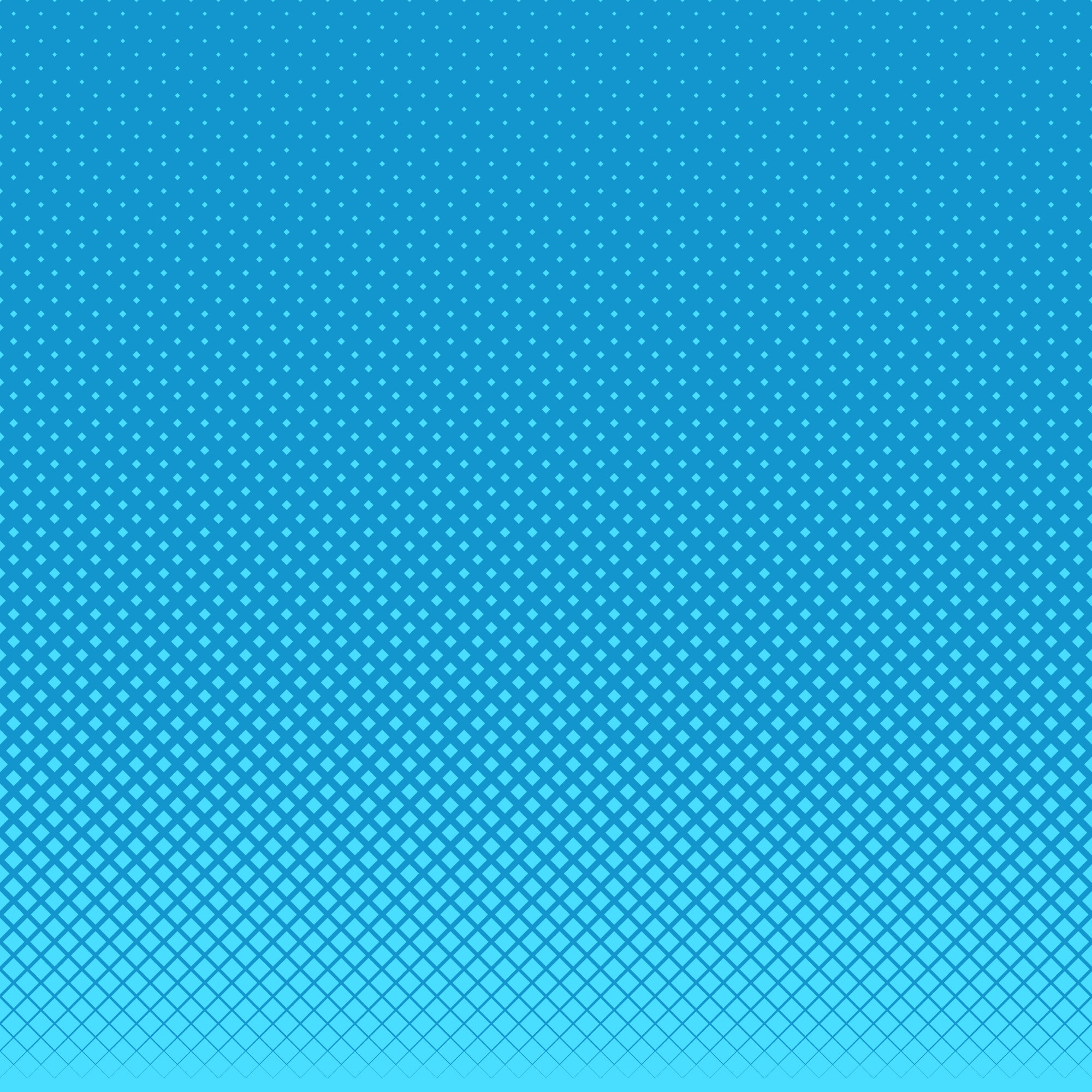 Blue halftone dots background