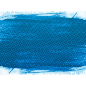 Blue halftone watercolor background