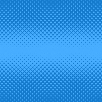 Blue halftoned dots background