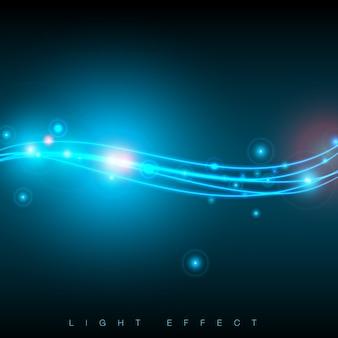Blue lights background design