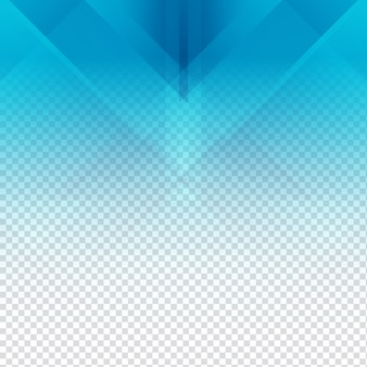 Blue polygonal background with transparencies