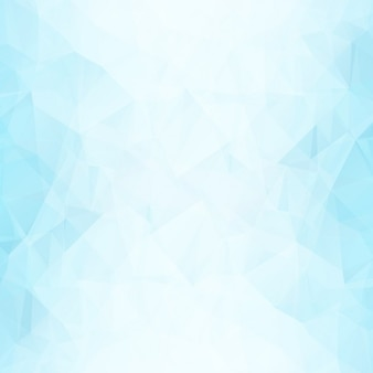 Blue polygonal shapes background