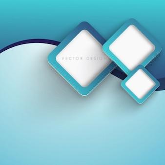 Blue rhombus background