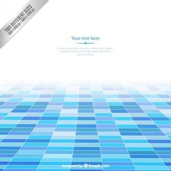 青色の正方形の背景