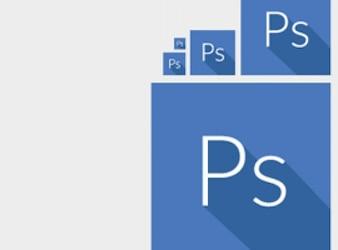 Blue squares photoshop icons