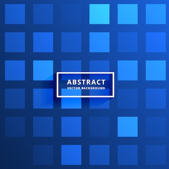 Blue tiles pattern background