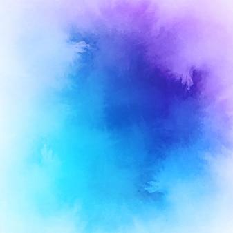 Blue tones watercolor background