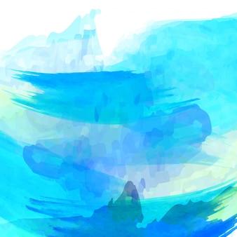 Blue watercolor background design