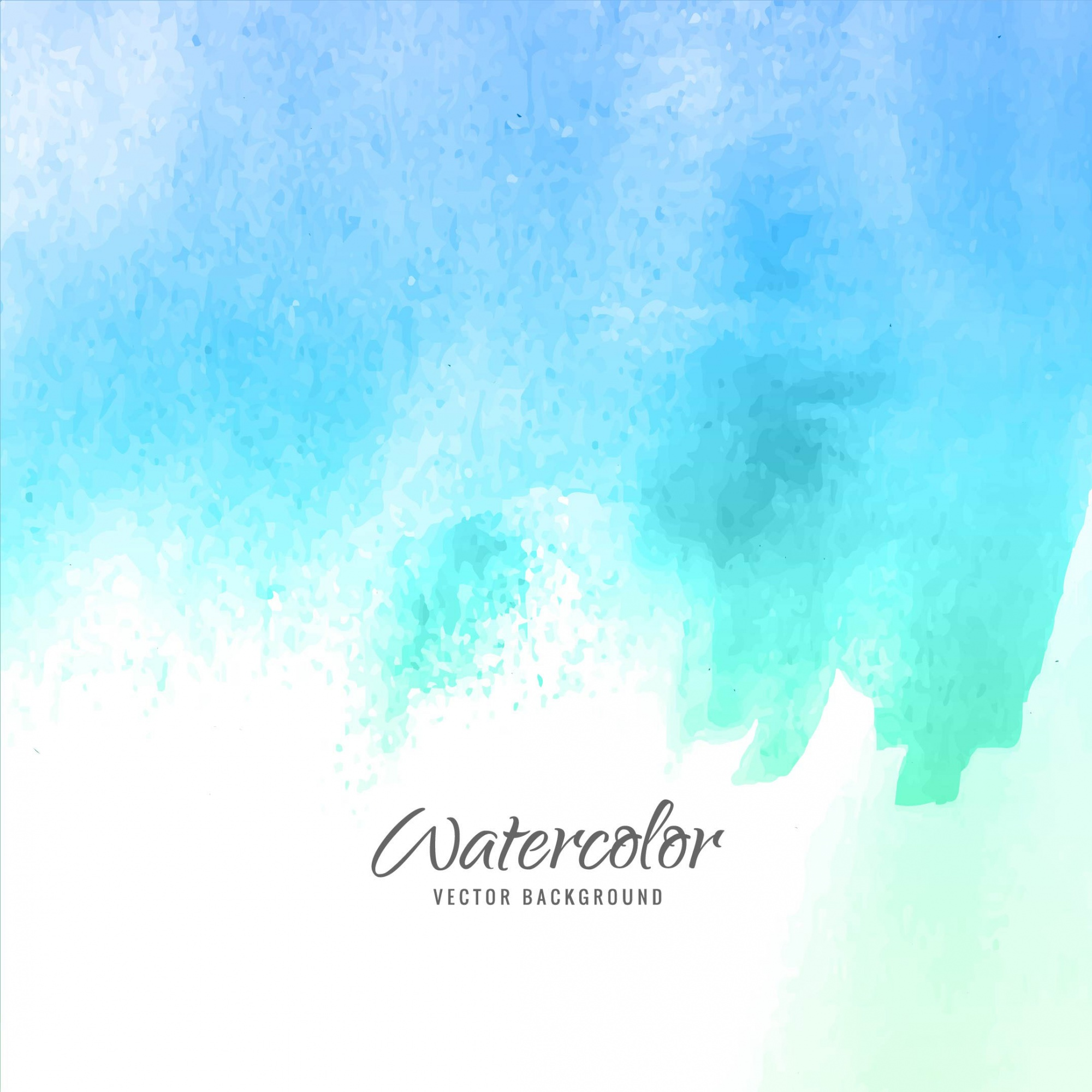 Blue watercolor background design