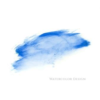 抽象的な青い水彩の汚れの背景