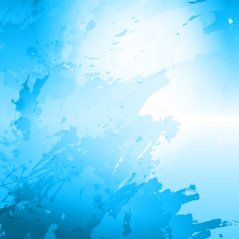 Blue watercolor stain background