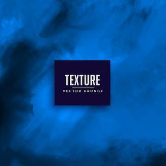 青い水彩テクスチャベクトルの背景