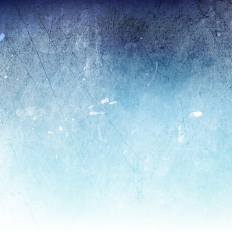 ブルー水彩画の質感