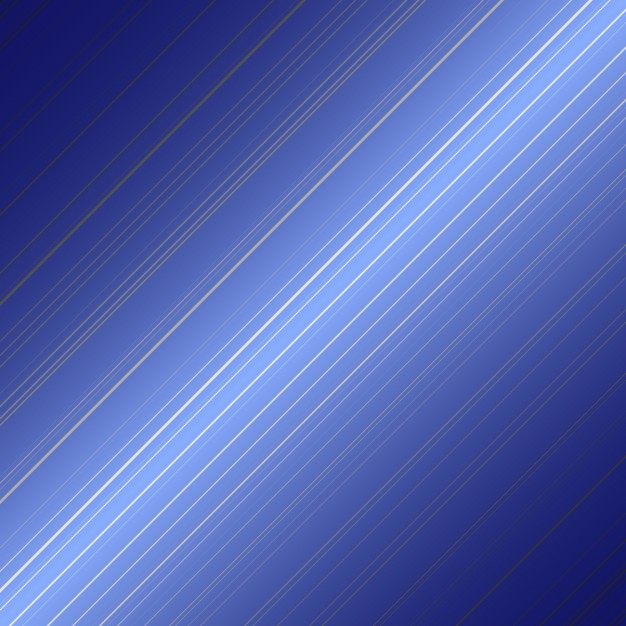 Blue with diagonal lines background