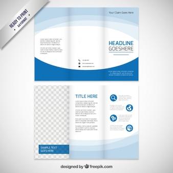 Blur Brochure Template