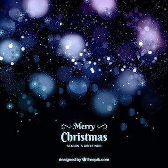 ぼやけた抽象的なクリスマスの背景