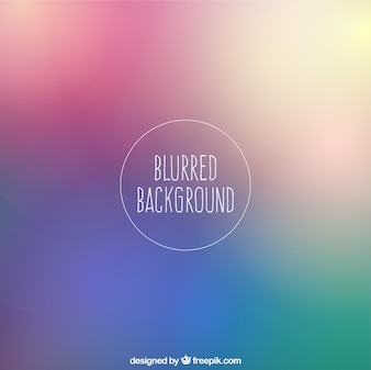Blurred background in colorful style