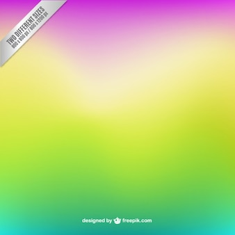 Blurred background in fluorescent colors