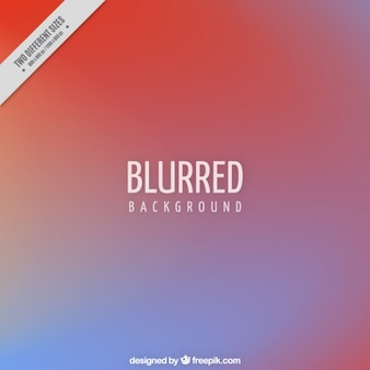Blurred background in two colors