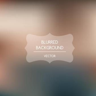 Blurred background, warm tones