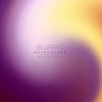 Blurred background with a full color swirl