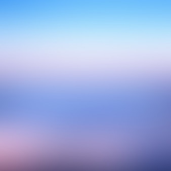 Blurred blue summer background