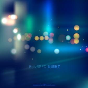 Blurred night background