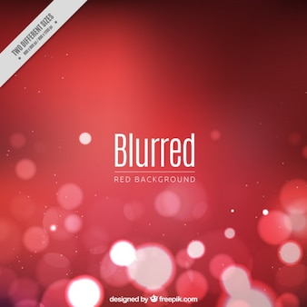 Blurred red background