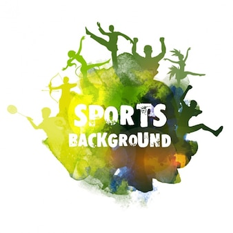 blurred sport background