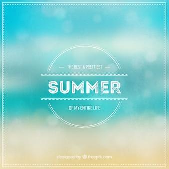 Blurred summer background