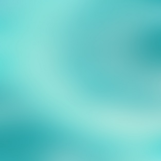 Blurred turquoise background design