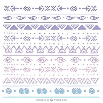 Boho style pattern design