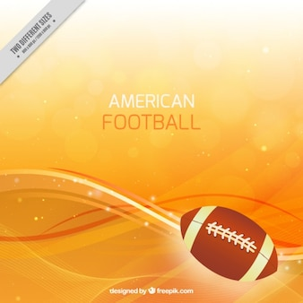Bokeh american football background