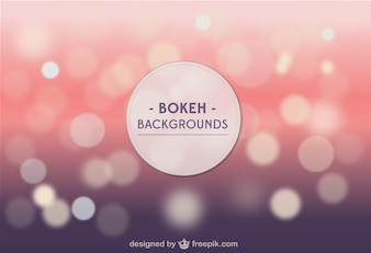 Bokeh background template