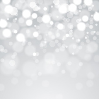 Bokeh grey background
