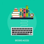 Book access background design