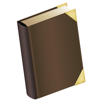 Book with brown cover