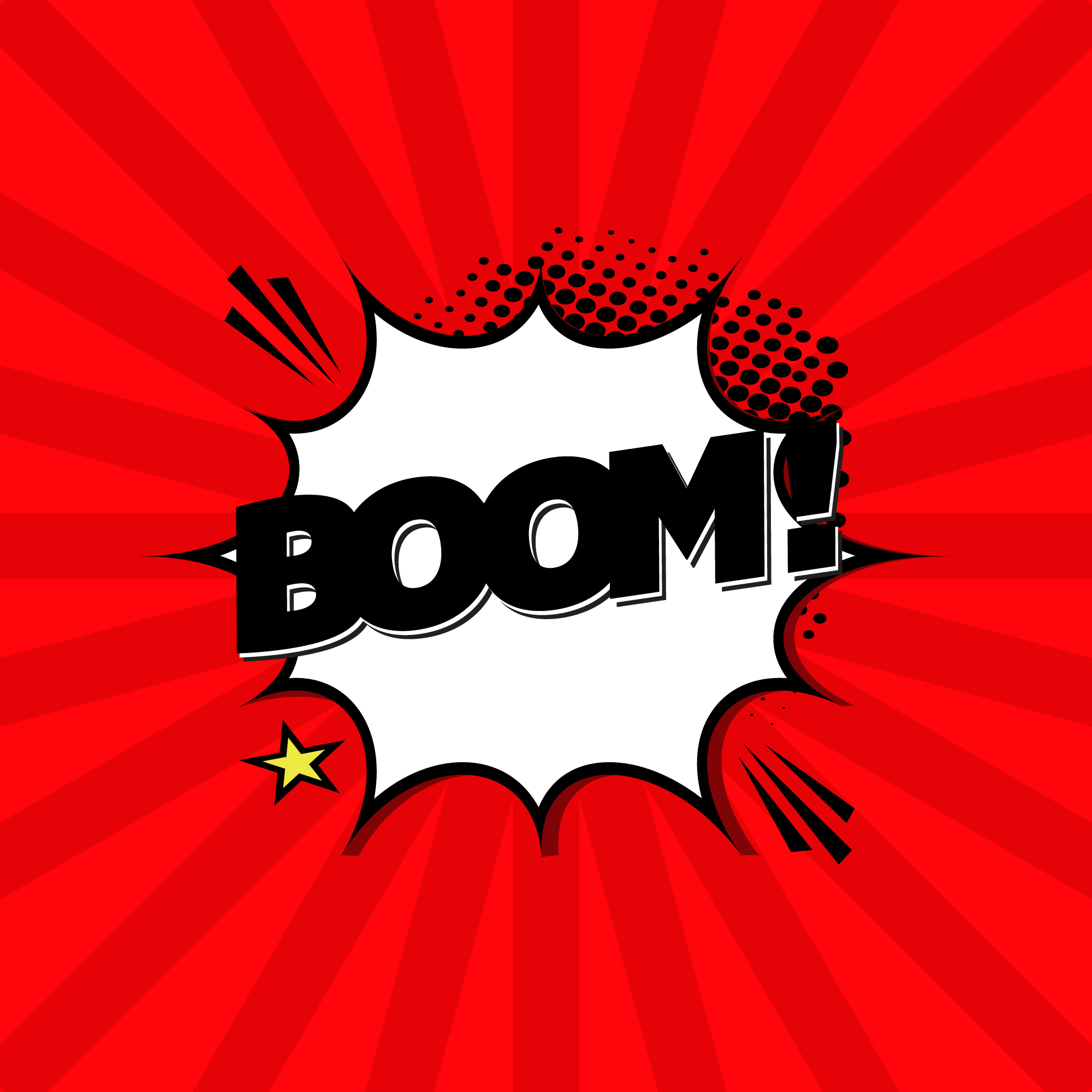 Boom expression background