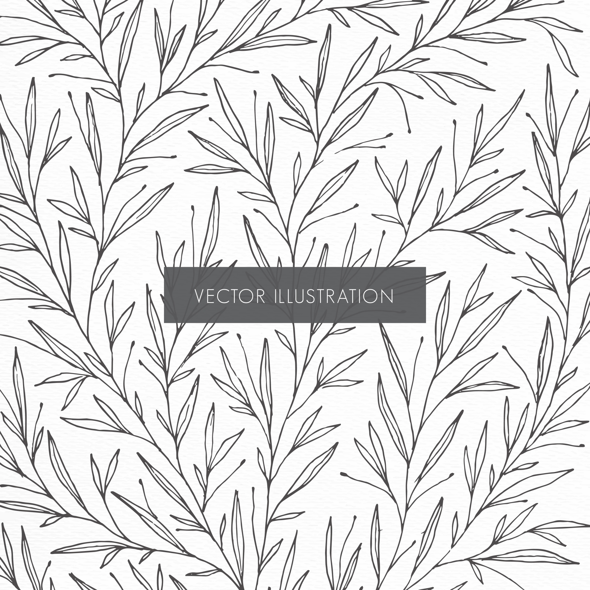 Botanical pattern illustration