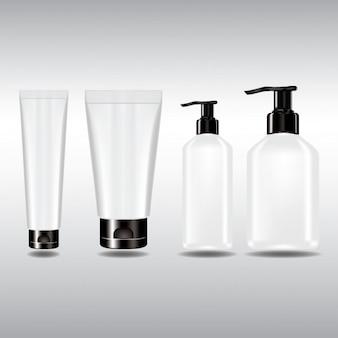 Bottles template design