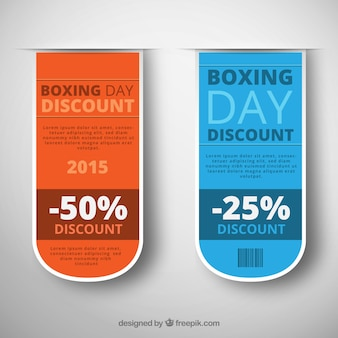 Boxing Day Discount Label Pack