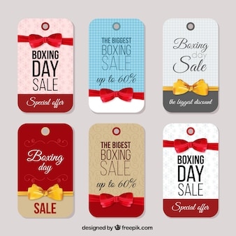 Boxing day tags