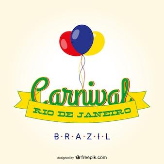 Brazil carnival banner