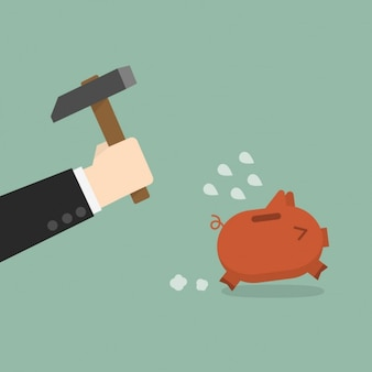 Breaking the piggybank