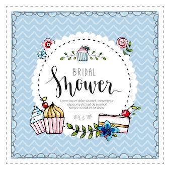 Bridal shower background