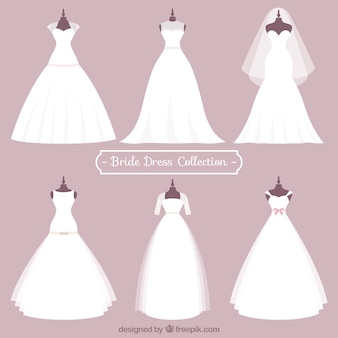 Bride dress collection