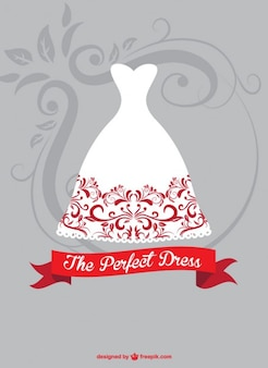Bride dress graphic