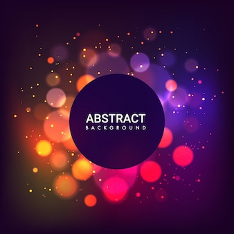 Bright abstract cover artwork graphic