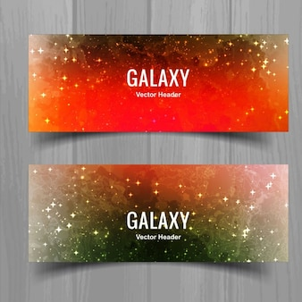 Bright banners of universe